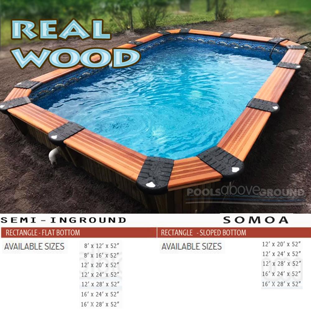 Somoa Wood Pool St Lucie FL