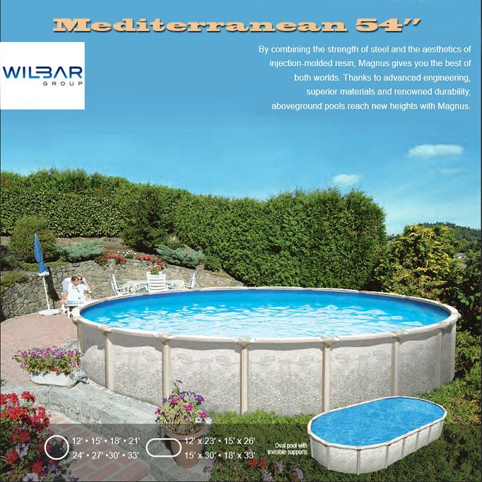 Mediterranean above ground pool St Lucie FL
